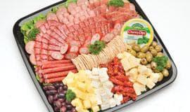 European antipasto selection
